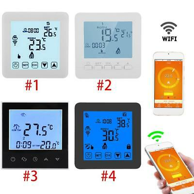 Programmable WiFi Smart Touch Room Thermostat Temperature Controller APP G