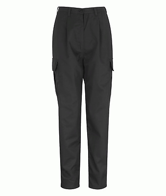 Orbit International PC245LCT Ladies Combat Trousers Polycotton Work Pants Black