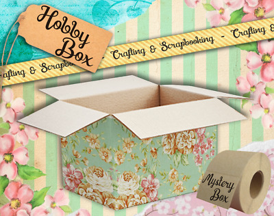 Hobby box - Crafting and scrapbooking supplies mystery box