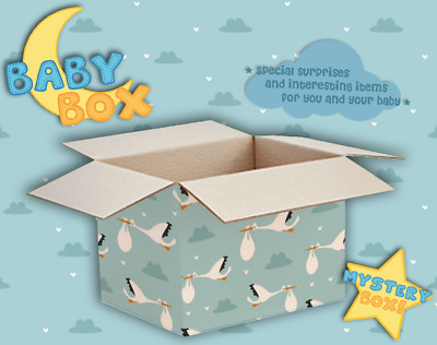 Baby Box - Special surprises and gifts for the Baby and parents (mystery box)