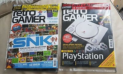 Retro Gamer Issue 188 & 187 New Sealed mags