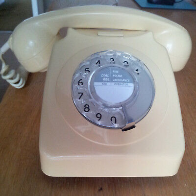 Vintage GPO type 746 (1972) telephone, serviced, converted,perfect working order
