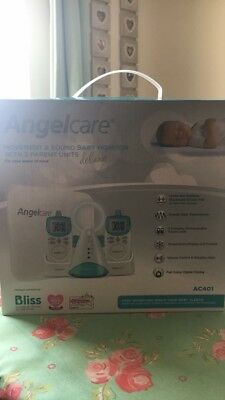 ****Angelcare AC401 movement and sound baby monitor****