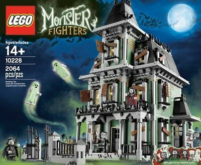Lego 10228 Monster Fighters Haunted House Nuovo New Nisb