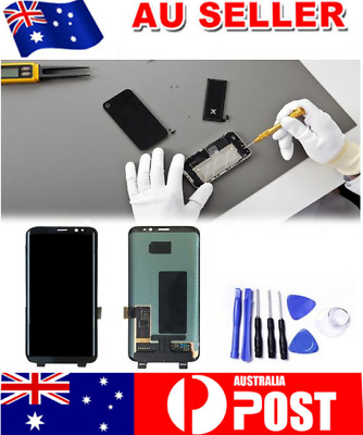 Replacement LCD Touch Screen Digitizer Glass Assembly for Samsung Galaxy S8 New