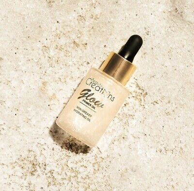 Beauty Creations GLOW Primer Oil Non-Greasy, Hydrating GOLD 30ml Au Stock