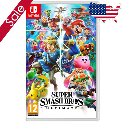 Super Smash Bros Ultimate - By Nintendo switch - Brand New