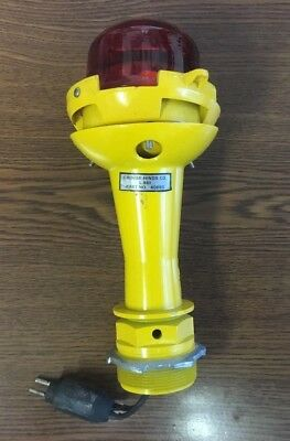 Crouse-Hinds Airport Runway Light RED L-861 (40680) missing hardware