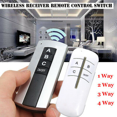 Wireless Transmitter Remote Control Bulb Controller Light Switch Lamp Receiver