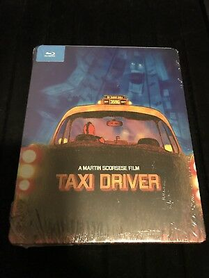 Taxi Driver Pop Art Steelbook (Blu-Ray, 1976, Limited Edition, Rare OOP) SEALED!