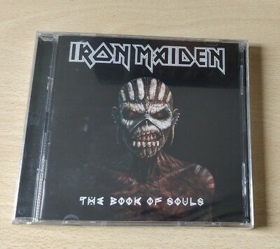 CD AUDIO ALBUM IRON MAIDEN THE BOOK Of SOULS NUOVO CD IRON MAIDEN NUOVO SEALED