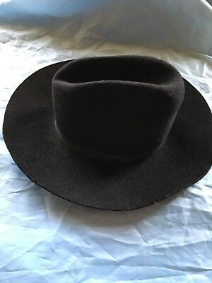 Vintage Fedora Hat Lion Pennant Made In Britain