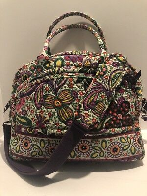 Vera Bradley Stroll Around Baby Diaper Multi Floral  Bag Used Once Large
