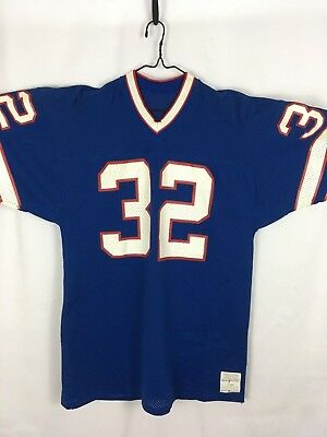 on sale 29d4a a177a RARE O.J. SIMPSON Team Issued Medalist Sand Knit BUFFALO BILLS Jersey #32  NFL