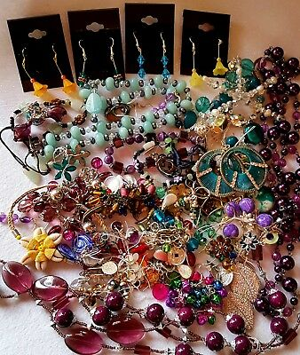 Huge Mixed Joblot Of Antique And Costume Jewellery (lot2)