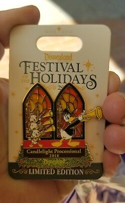 Disney festival of holidays candlelight processional 2018 pin