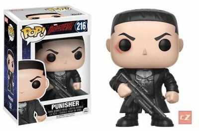 Funko Pop! Marvel: Daredevil TV Punisher #216 NIB cZ