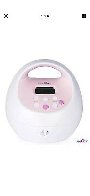 Spectra S2 plus Pink Single/Double Electric Breast Pump with  ac adapter.