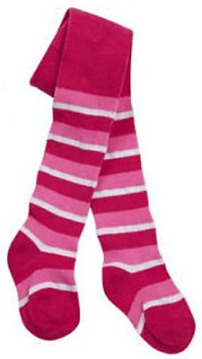 Baby girl TIGHTS cotton patterned striped knitted funky SINGLE or 3 PACK