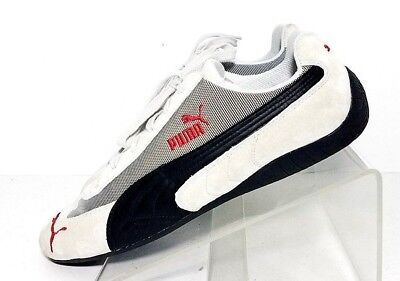 cb03b8618a65 Puma Speed Cat Men Driving Running Lace Up Gray Leather Suede Sneaker 11.5