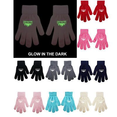 Boys Girl Teenager Fortnite Magic Gloves Ages From 3 -16 Glow In Dark 8 Colours