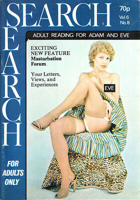 Search 6/8 - Vintage mens magazine from SRA Publications