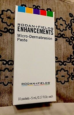 Rodan + and Fields Enhancements Micro-Dermabrasion Paste 10 Packets