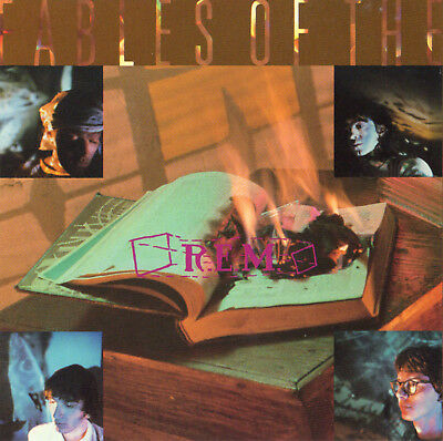 R.E.M. CD Fables of the Reconstruction 1985 Driver 8 Wendell Gee REM IRSD-5592