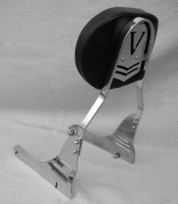 Yamaha XVS950 / 1300 Midnight Star V-Star Sissy Bar Passenger backrest