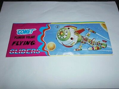 """Nr.2 Planeur Volant Flying Gliders """" Comet """" Styroporflieger Captain Future"""