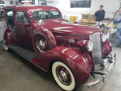 1936 Packard Packard Luxury Touring Sedan ebay motors 1936 Packard 120 B Touring Sedan Restoration