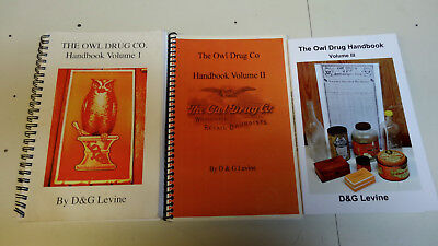 The Owl Drug Company - A Definitive History - 3 Volumes