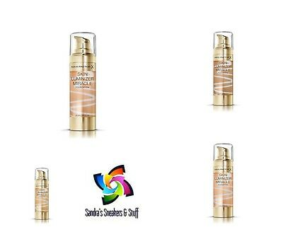 Max Factor Skin Luminizer Miracle Foundation Please Choose Your Shade Sealed New