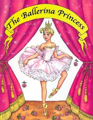 Personalized Children's Story Books 4 Girls-The Ballerina Princess-FREE Shipping