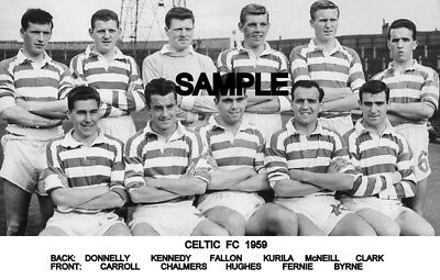 Celtic FC 1959 Team Photo