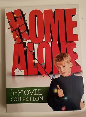 HOME ALONE 5 MOVIE COLLECTION Pre-Owned PERFECT Condition! LIKE NEW