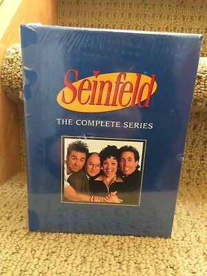 Seinfeld Complete Series ~ NEW 33-DISC BOX SET ~ FREE SHIPPING