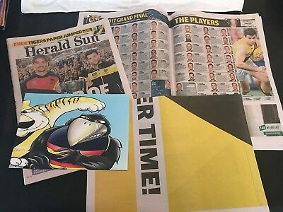 Herald Sun - 2017 AFL Grand Final Preview Special Richmond v Adelaide