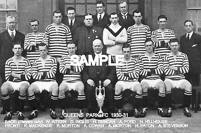 Queens Park FC 1930-31 Team Photo