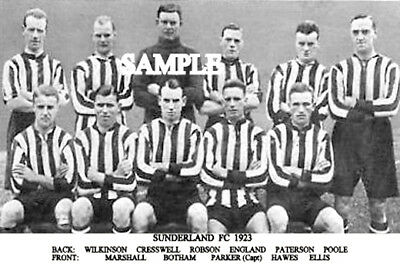 Sunderland FC 1923 Team Photo