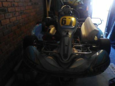 Go kart, 2 kart trailer, spares. Everything you need to get in and go