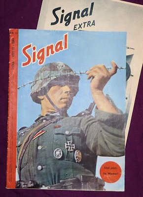 Signal magazine, German Edition (D), Number 13 of 1944 + Extra