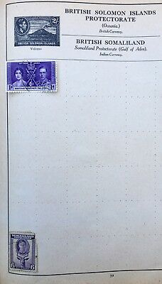 2 X British Colonies Stamps