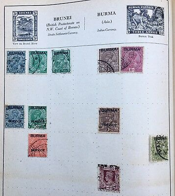 Collection of Burma / British Colonies Stamps