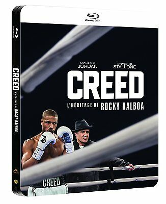 CREED Blu-Ray Collectible LIMITED EDITION Steelbook NEW