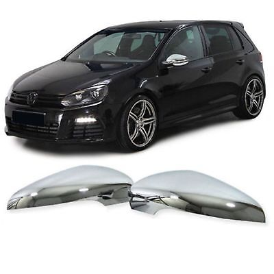 2 Coque Retroviseur Golf 6 Berline 10/2008-11/2012 Touran 5/2010-5/2015 Chrome