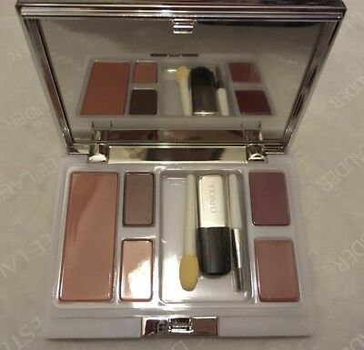 ❤BN- Clinique Travel Compact: Lipstick, Blush And Eyeshadow❤️
