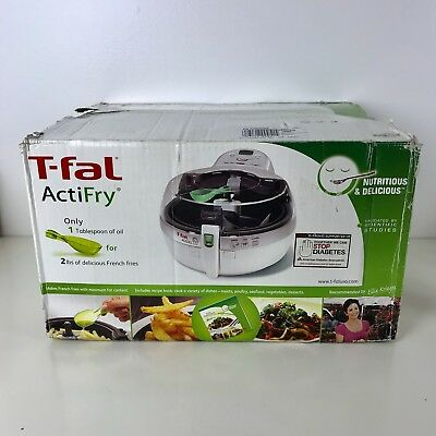 NEW T-Fal ActiFry Air Fryer Healthy Nutritious Low Fat Multi Cooker NIB