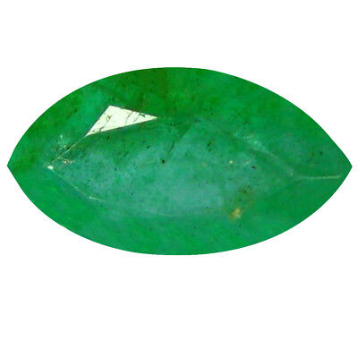 0.86 ct EYE-POPPING MARQUISE CUT (9 X 5 MM) COLOMBIAN EMERALD NATURAL GEMSTONE
