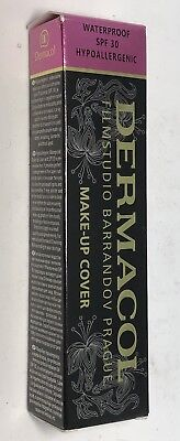 Dermacol Make-Up Cover Foundation Waterproof SPF-30 Hypoallergenic 210